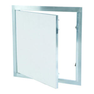 WB DWAL 411 Series Touch Latch Drywall Access Panels with Fixed Hinges