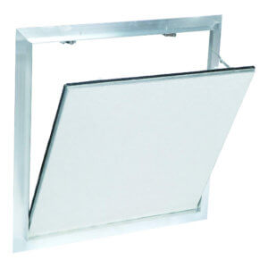 WB DWAL 413 Series Air & Dust Resistant Touch Latch Drywall Access Panels