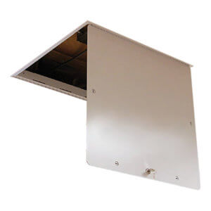 WB TB 1210 Series Aluminum Suspended Ceiling T-Bar Access Doors
