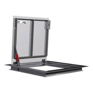 WB APS 8100 Series Flush Aluminum Diamond Plate Floor Hatches