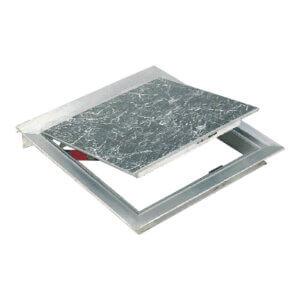 WB R-APS 8150 Series Recessed Aluminum Floor Hatches for Vinyl Tile or Carpet