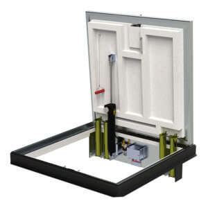 WB Type FR & FRLC Series Fire-Rated Floor Hatch